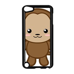 Kawaii Monkey Apple Ipod Touch 5 Case (black) by KawaiiKawaii