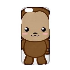 Kawaii Monkey Apple Iphone 6/6s Hardshell Case by KawaiiKawaii