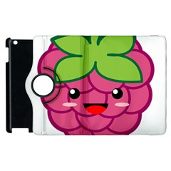 Raspberry Apple Ipad 3/4 Flip 360 Case by KawaiiKawaii