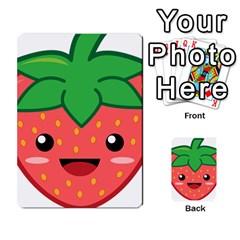 Kawaii Strawberry Multi Purpose Cards (rectangle)  by KawaiiKawaii