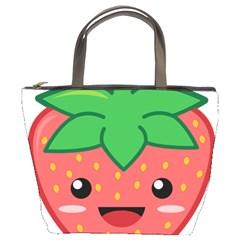 Kawaii Strawberry Bucket Bags by KawaiiKawaii