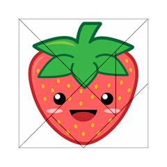 Kawaii Strawberry Acrylic Tangram Puzzle (6  x 6 ) by KawaiiKawaii