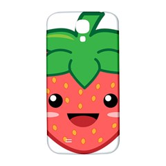 Kawaii Strawberry Samsung Galaxy S4 I9500/i9505  Hardshell Back Case by KawaiiKawaii