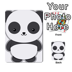 Kawaii Panda Multi Purpose Cards (rectangle)