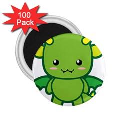 Kawaii Dragon 2.25  Magnets (100 pack)  by KawaiiKawaii