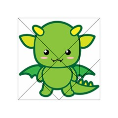 Kawaii Dragon Acrylic Tangram Puzzle (4  X 4 ) by KawaiiKawaii