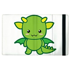 Kawaii Dragon Apple Ipad 3/4 Flip Case by KawaiiKawaii