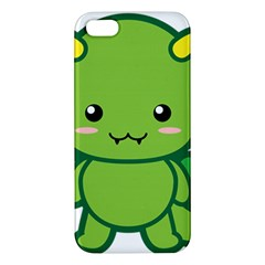 Kawaii Dragon Apple Iphone 5 Premium Hardshell Case by KawaiiKawaii