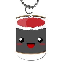 Kawaii Sushi Dog Tag (one Side) by KawaiiKawaii