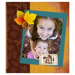 Fall By Thank You   Drawstring Pouch (medium)   U0drbtapgt1t   Www Artscow Com Front