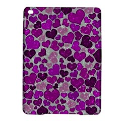 Sparkling Hearts Purple Ipad Air 2 Hardshell Cases by MoreColorsinLife
