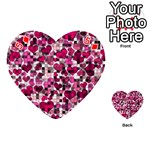 Hearts And Checks, Pink Playing Cards 54 (Heart)  Front - Diamond5