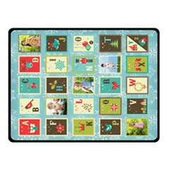 Xmas By Blanket    Double Sided Fleece Blanket (small)   Jv9cu7vvl9b4   Www Artscow Com 45 x34 Blanket Front