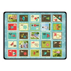 Xmas By Blanket    Double Sided Fleece Blanket (small)   Jv9cu7vvl9b4   Www Artscow Com 45 x34 Blanket Back