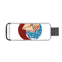 Virgo Star Sign Portable Usb Flash (one Side) by theimagezone