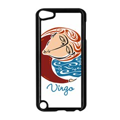 Virgo Star Sign Apple Ipod Touch 5 Case (black) by theimagezone