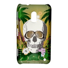 Funny Skull With Sunglasses And Palm Nokia Lumia 620 by FantasyWorld7