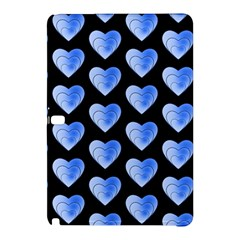 Heart Pattern Blue Samsung Galaxy Tab Pro 12.2 Hardshell Case by MoreColorsinLife