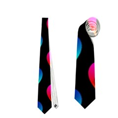 Heart Pattern Rainbow Neckties (two Side)  by MoreColorsinLife