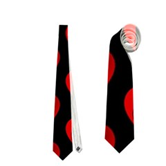 Heart Pattern Red Neckties (two Side)