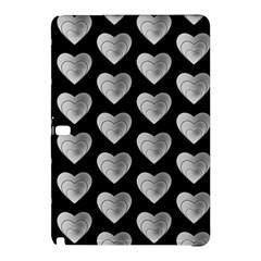 Heart Pattern Silver Samsung Galaxy Tab Pro 12 2 Hardshell Case