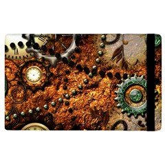 Steampunk In Noble Design Apple Ipad 3/4 Flip Case by FantasyWorld7