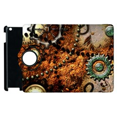 Steampunk In Noble Design Apple Ipad 3/4 Flip 360 Case by FantasyWorld7
