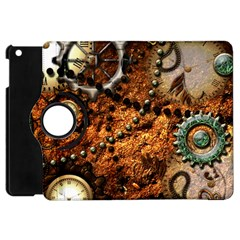 Steampunk In Noble Design Apple Ipad Mini Flip 360 Case by FantasyWorld7