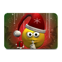 Funny Christmas Smiley Plate Mats