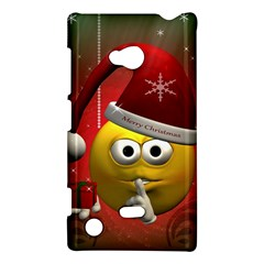 Funny Christmas Smiley Nokia Lumia 720 by FantasyWorld7
