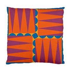 Angles Standard Cushion Case (two Sides) by LalyLauraFLM