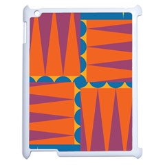 Angles Apple Ipad 2 Case (white) by LalyLauraFLM