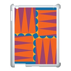 Angles Apple Ipad 3/4 Case (white) by LalyLauraFLM