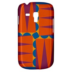 Angles Samsung Galaxy S3 Mini I8190 Hardshell Case by LalyLauraFLM