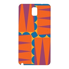 Angles Samsung Galaxy Note 3 N9005 Hardshell Back Case by LalyLauraFLM
