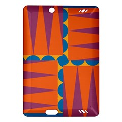 Angles Kindle Fire Hd (2013) Hardshell Case by LalyLauraFLM