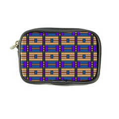 Rectangles And Stripes Pattern Coin Purse by LalyLauraFLM