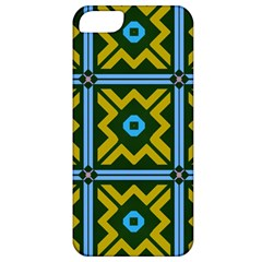 Rhombus In Squares Pattern Apple Iphone 5 Classic Hardshell Case by LalyLauraFLM