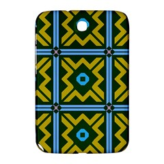 Rhombus In Squares Pattern Samsung Galaxy Note 8 0 N5100 Hardshell Case  by LalyLauraFLM