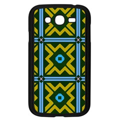 Rhombus In Squares Pattern Samsung Galaxy Grand Duos I9082 Case (black) by LalyLauraFLM