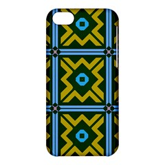 Rhombus In Squares Pattern Apple Iphone 5c Hardshell Case by LalyLauraFLM