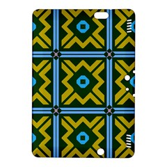 Rhombus In Squares Pattern	kindle Fire Hdx 8 9  Hardshell Case by LalyLauraFLM