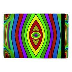 Colorful Symmetric Shapes	samsung Galaxy Tab Pro 10 1  Flip Case by LalyLauraFLM