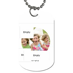 Xmas By Xmas   Dog Tag (two Sides)   S8tfk0vxhlj7   Www Artscow Com Front