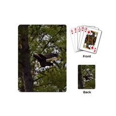 Bald Eagle Playing Cards (mini)  by timelessartoncanvas