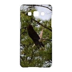 Bald Eagle 2 Samsung Galaxy A5 Hardshell Case  by timelessartoncanvas