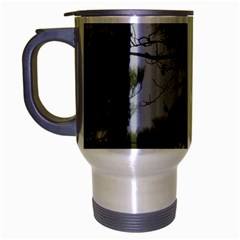 Bald Eagle 4 Travel Mug (silver Gray) by timelessartoncanvas