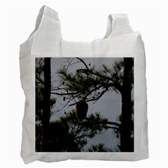 Bald Eagle 4 Recycle Bag (two Side)  by timelessartoncanvas