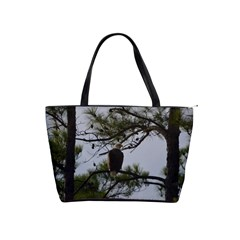 Bald Eagle 4 Shoulder Handbags by timelessartoncanvas
