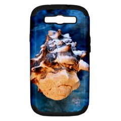 Sea Shell Spiral Samsung Galaxy S III Hardshell Case (PC+Silicone) by timelessartoncanvas